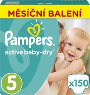Pampers Pleny Active Baby 5 Junior 11-18kg