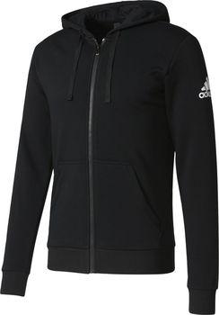 adidas Ess Base Fz Slb černá. Sportovní pánská černá mikina ... 287c937c647