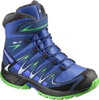 Salomon XA Pro 3D Winter TS CSWP J Blue yonder blue green. Tyto dětské boty  ... 466668fa3b