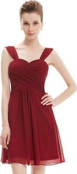 Ever Pretty plesové šaty krátké bordo 3539… 9da3ee6754