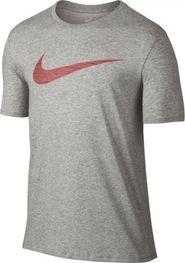 pánské tričko NIKE Dry Tee DF Swoosh šedé e5455d09db
