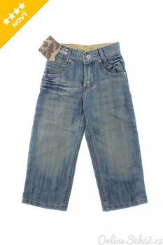 Modré chlapecké kalhoty z denimu • Zboží.cz 065d9979d3