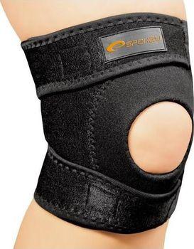 Vysoce elastická sportovní bandáž na koleno Spokey Musto je vyrobena z  elastického neoprenu 666d51e25b