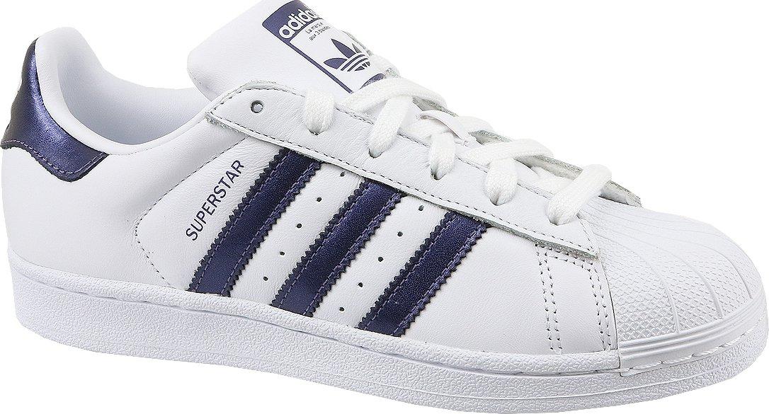 Adidas Superstar W CG5464 bílé modré od 2 410 Kč • Zboží.cz b3e48099c0