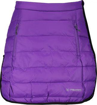 Trimm Zippy violet black. Dámská zateplená prošívaná sukně ... 921478182e