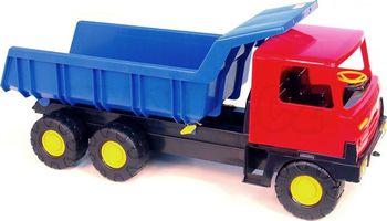 e59af6c5f Auto Tatra 815 korba červená, kabina modrá. Dětské auto T815 je hračka  určená pro děti na pískovištích.