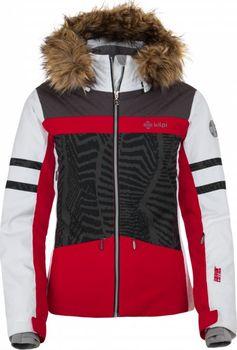 5c4dadb849d Kilpi Lesia-W červená. Dámská dvouvrstvá lyžařská bunda ...