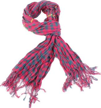 Luxusní kostkovaný šátek Lott tmavě růžový D7 9e986e6dd9