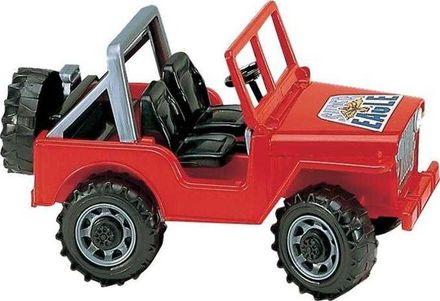 Bruder BR2540 Jeep červený