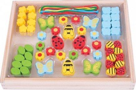 a5532f324 Bigjigs Toys Dřevěné korálky Louka od 315 Kč | Zboží.cz