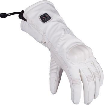 Glovii GS6 bílé. Dámské vyhřívané lyžařské a moto rukavice ... b87aef1fef