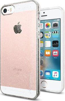Spigen Liquid Air Glitter pro iPhone SE 5s 5 průhledné s třpytkami ... 106a3c21467