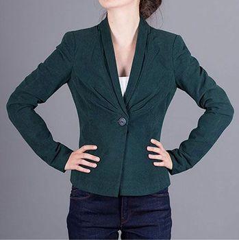 a64ab4622923 Luxusní zelené sako Armani Jeans 36