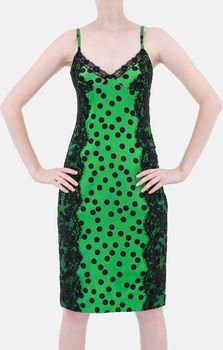 62aa64c1e73 Dolce Gabbana Modní plesové šaty D G zelené…