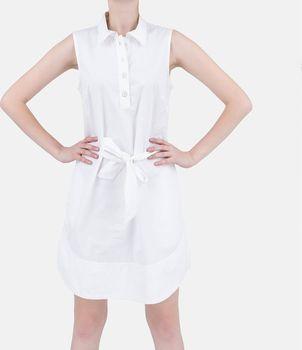 Armani Jeans Luxusní letní šaty Armani bílé… bde2ffaecac