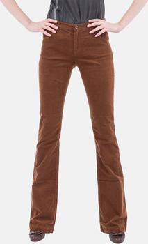 Armani Jeans Dámské hnědé jeansy Armani 27 b16bb146cb2