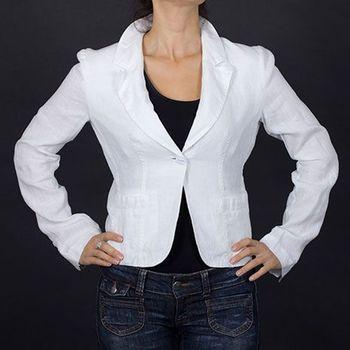 5554200c02cd Armani Jeans Značkové dámské sako bílé