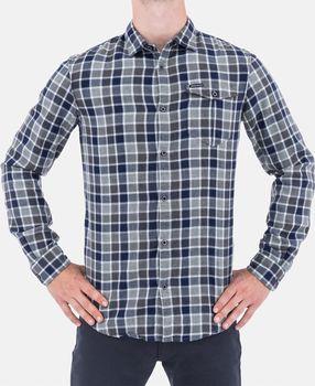 b27050c46e3 Armani Jeans Kostkovaná pánská košile Armani…