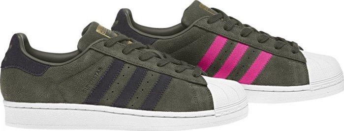 Adidas Superstar W Night Cargo Carbon Shock Pink od 1 349 Kč • Zboží.cz d96b0649e