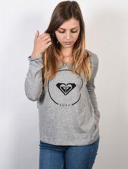 dámské tričko Roxy Twist Essential Heritage Heather tričko šedá 1d1c0af604