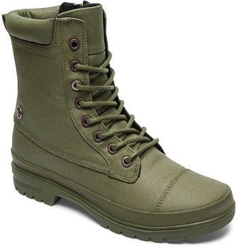 Dc Amnesti TX olive. Vojenskými kanady inspirované khaki dámské boty ... 94909f4a44