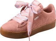 18f9e3d7ecf dámské tenisky Puma Vikky Platform Ribbon 36531402 růžové