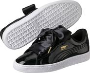 fe9248f3aec dámské tenisky Puma Basket Heart Patent Wn´s 36307301 černé