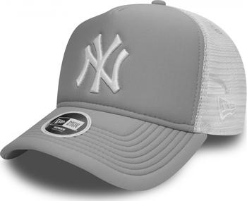 6901259a059 New Era Essential A-Frame Trucker New York Yankees 9Forty šedá bílá ...