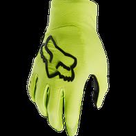 cyklistické rukavice Fox Flexair Glove Bike žluté černé 652c9a243b