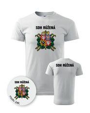 37cdffa15644 pánské tričko PotiskniTriko.cz Tričko pro hasiče 249 bílé