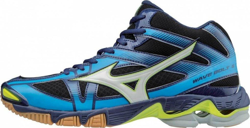 Mizuno Wave Bolt 6 Mid Black White Blue Depths od 1 695 Kč • Zboží.cz 4c326fdc72