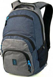 eafc01e0fa Ars Una studentský batoh Autonomy AU2 blue grey od 899 Kč