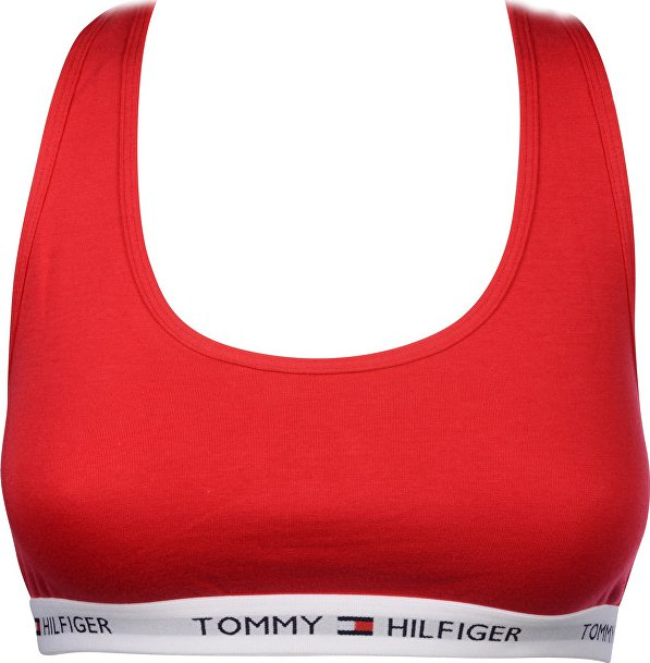2bbed32ae Tommy Hilfiger Cotton Iconic Bralette Crimson červená od 690 Kč | Zboží.cz