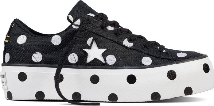 Converse One Star Platform Black White White od 1 920 Kč • Zboží.cz e96126dadb