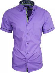 pánská košile Binder de Luxe 82912 fialová d2a433bb27
