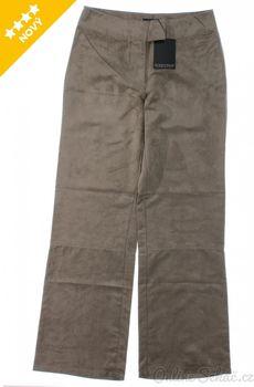 Hnědé dámské kalhoty z polyesteru • Zboží.cz bd350eb8e87