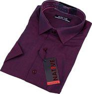 406bdd5b367 pánská košile Native 120315 bordó