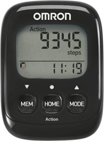 842425adb Omron HJ-325-EBK Walking Style IV krokoměr černý od 799 Kč | Zboží.cz