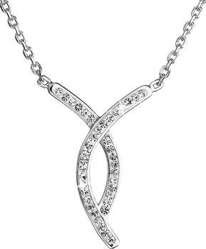 Evolution Group 32018.1. Stříbrný náhrdelník s krystaly ... 479e3e6623d
