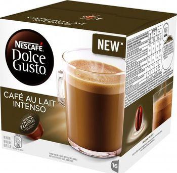 Nescafé Café au Lait Intenso 16 ks. Intenzivní káva Nescafé Dolce Gusto ... 64334f69e5