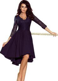 cc127016687b dámské šaty Numoco 210-2 tmavě modré