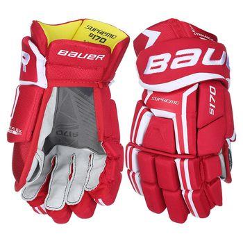 Bauer Supreme S170 Jr rukavice červené 11