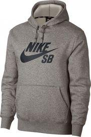 pánská mikina Nike SB Icon Essential Hoodie Dark Grey  Black e48a682303a