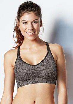 Bravado Body Silk Seamless Yoga Antracit. Body Silk Seamless Jóga kojící  podprsenka ... 8b8bdd86e7