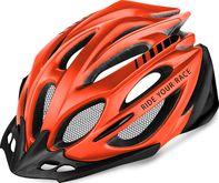 cyklistická přilba R2 ATH02R Pro-tec neonově červená černá M 04c4e0f5ee0