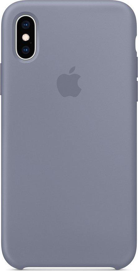 Apple Silicone Case pro iPhone XS Lavender Gray od 967 Kč • Zboží.cz 36554c84d6b