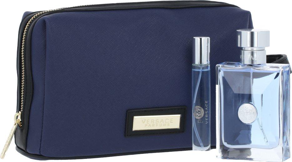 Versace Pour Homme M EDT 100 ml + EDT Mini 10 ml + kosmetická taška od 1  296 Kč • Zboží.cz 5f64fe3d10