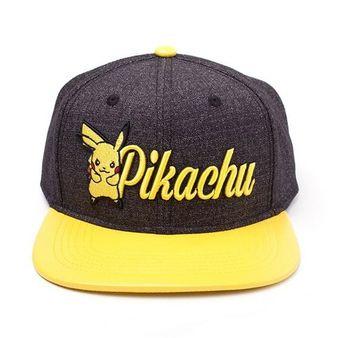 a34ad7db9 Pokémon Pikachu čepice baseballová/kšiltovka rap universalní | Zboží.cz