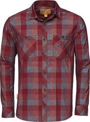 pánská košile Bushman ZAP 241082 červená ecd0326945