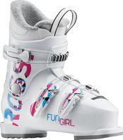 f6bb817861e sjezdové boty Rossignol Fun Girl J3 2017 18 bílé